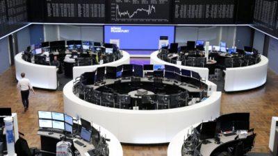 Европейские фондовые индексы упали из-за проблем в Китае
