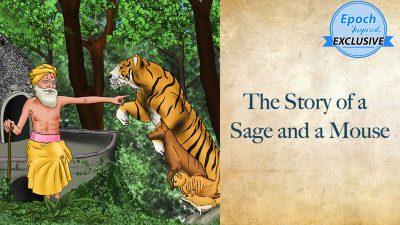 Древние мудрые сказки: история мудреца и мыши