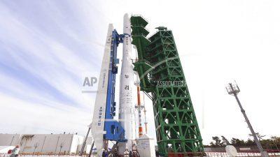 Южная Корея запустила в космос первую отечественную ракету