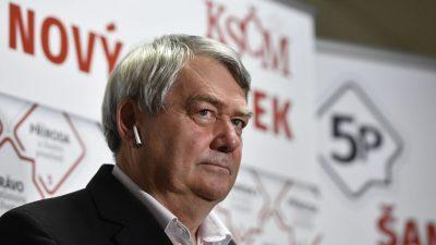 Коммунисты не прошли в парламент Чехии впервые с 1948 года