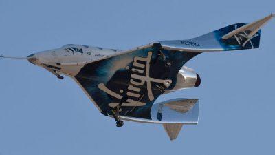 Virgin Galactic отложила запуск коммерческих полётов в космос на конец 2022 года