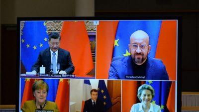 Европа ужесточает политику в отношении Пекина