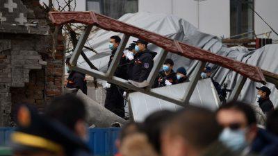 В Китае от мощного взрыва в ресторане погибли трое