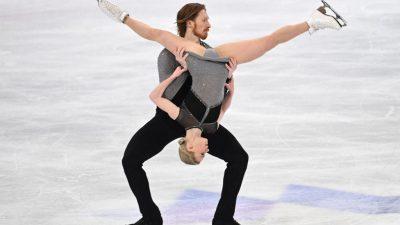 Фигуристы Тарасова и Морозов стали первыми на Гран-при США