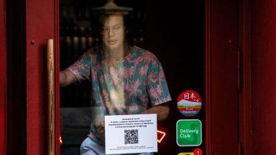 В Санкт-Петербурге введут QR-коды для посещения общественных мест