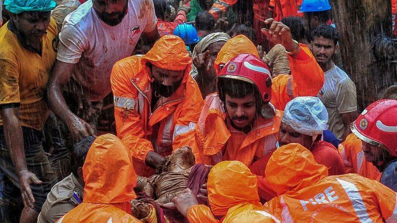 Число жертв наводнений в Индии возросло до 24 человек
