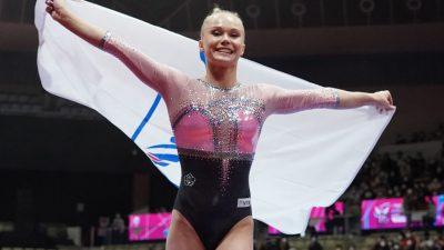 Гимнастка Ангелина Мельникова стала чемпионкой мира в личном многоборье
