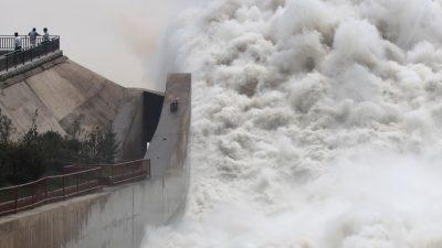 Наводнения в Западном Китае разрушили сельскохозяйственное производство