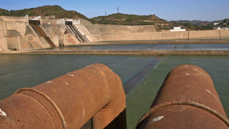 Водохранилище «Сяоланди» на реке Хуанхэ в центральной провинции Хэнань. В Китае насчитывается около 98 тыс. водохранилищ. (Teh Eng Koon/AFP via Getty Images | Epoch Times Россия