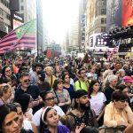 Нью-Йорк против принудительной вакцинации