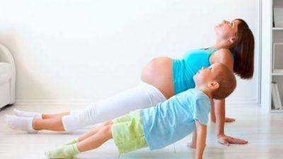Занятия спортом помогут во время беременности
