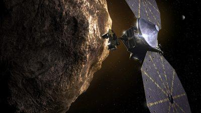 Американский космический зонд «Люси» облетит астероиды Юпитера