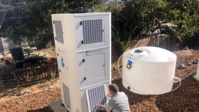 В Калифорнии покупают машины, производящие воду из воздуха