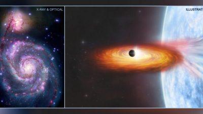 Астрономы обнаружили первую экзопланету за пределами нашей галактики