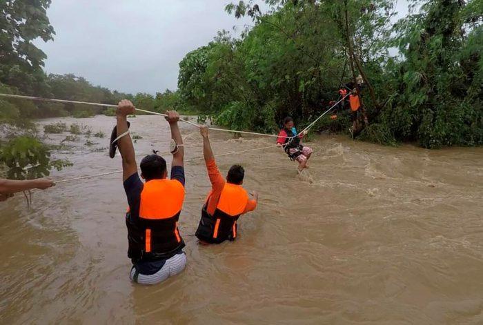 9 человек погибли в результате циклона «Компасу» на Филиппинах