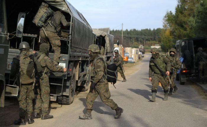 Польша усиливает охрану на границе с Беларусью