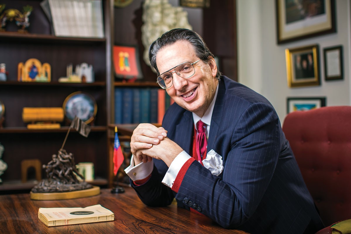 Профессор Артур Уолдрон. Фото: Билл Се