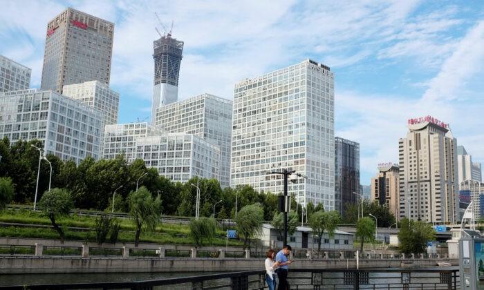 Деловой квартал в Китае