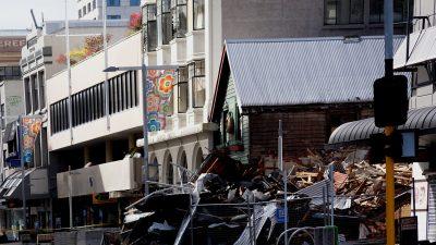 Мощное землетрясение потрясло Японию