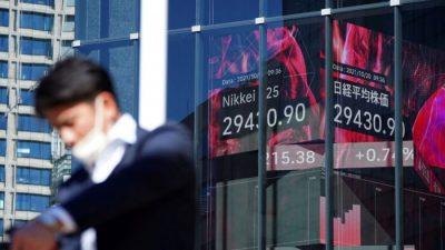 Акции растут на фоне оптимизма в отношении мировой экономики