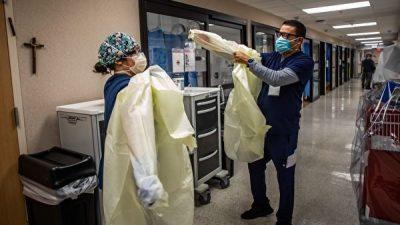 В США не хватает медсестёр из-за принудительной вакцинации