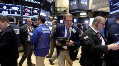 Фьючерсы снижаются из-за  опасений по поводу роста инфляции