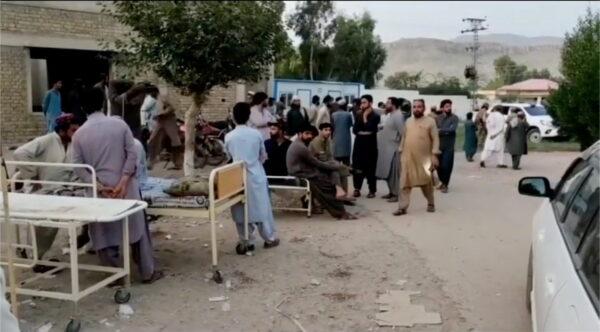 Около 20 человек погибли во время землетрясения в Пакистане