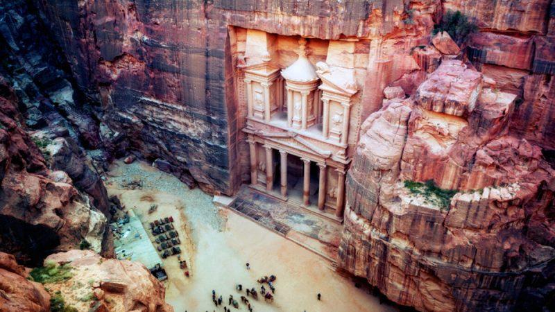 Затерянный город Петра — одно из Новых семи чудес света