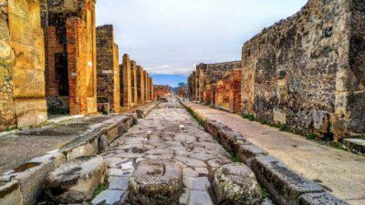Трагедия и красота Помпей, оставшиеся после извержения Везувия