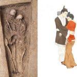 1500-летние скелеты нежно обнимают друг друга