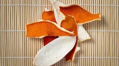 Сушёная мандариновая кожура полезна для здоровья