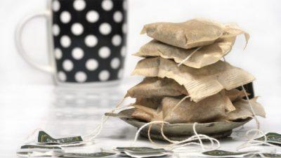 Восемь способов применения чайного пакетика