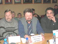 2006 01 20 stol 5 - Круглый стол в Институте  Региональной  Прессы г. Санкт-Петрбурга «Преступления коммунистических тоталитарных режимов.»