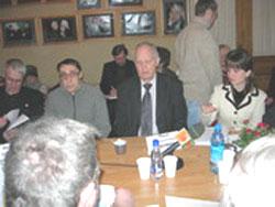 2006 01 20 stol 6 - Круглый стол в Институте  Региональной  Прессы г. Санкт-Петрбурга «Преступления коммунистических тоталитарных режимов.»