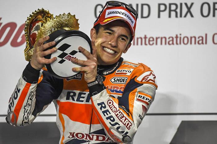 Первый этап ЧМ по мотогонкам выиграл испанец Маркес