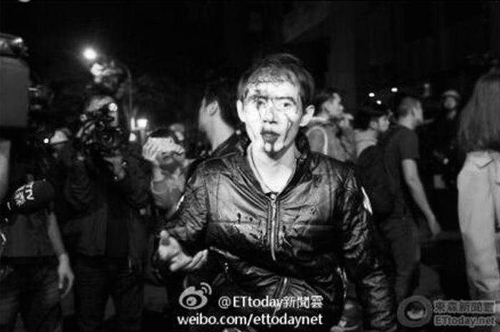 Полиция Тайваня пыталась выгнать студентов из здания Законодательной палаты