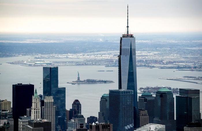 Экстремал из Нью-Джерси залез на башню Всемирного торгового центра