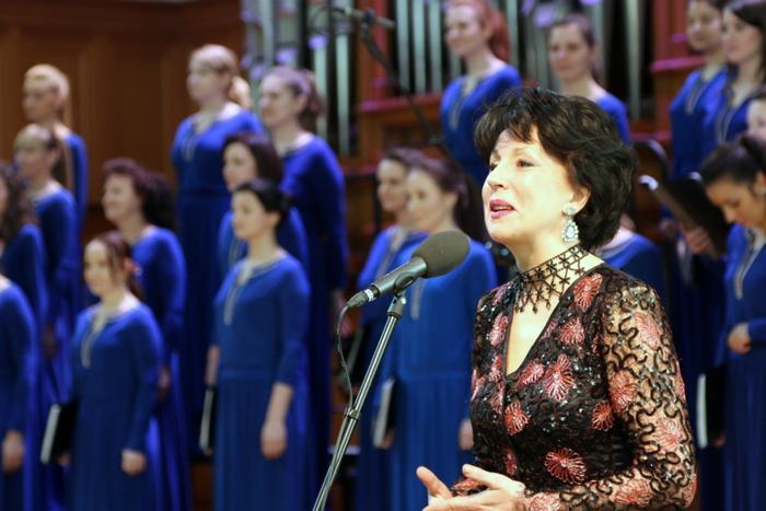 Звёзды поздравили Марию Струве в Большом Зале Консерватории