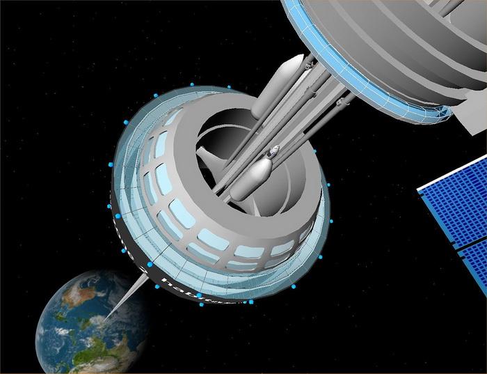Япония занимается проектированием лифта в космос
