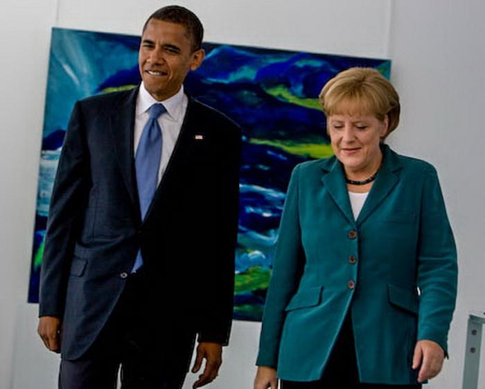 Обама и Меркель предлагают провести  российско-украинские переговоры
