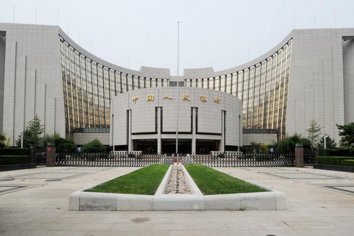Здание Народного банка Китая в Пекине, 7 августа 2011 года. Mark Ralston/AFP/Getty Images