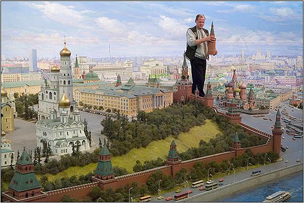 Макет Москвы может попасть в Книгу рекордов Гиннеса