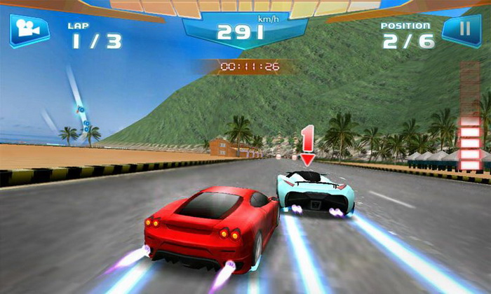 3D-гонки для Android — Fast Racing
