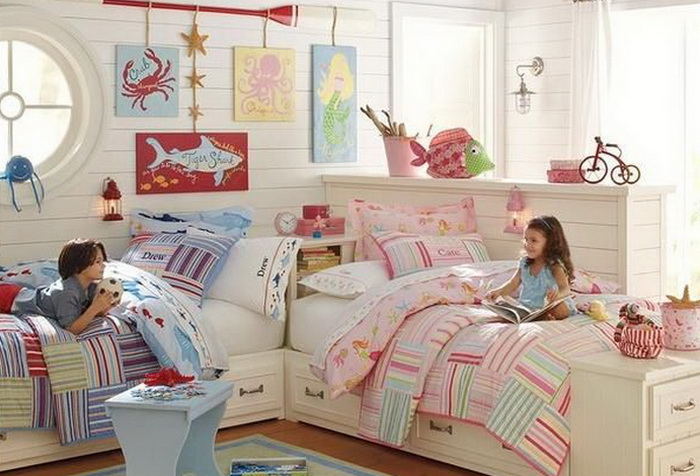 Ремонт в детской комнате с участием ребёнка