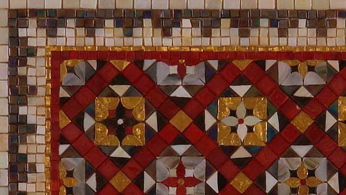 Разновидности стеклянной мозаики