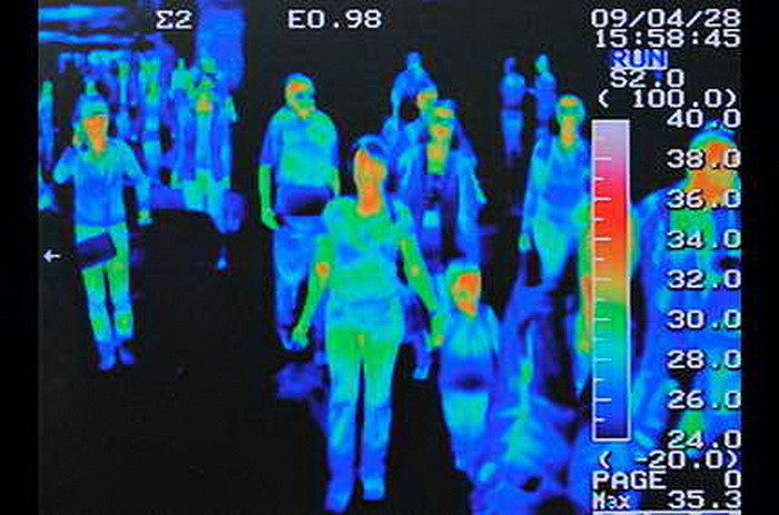Гостей Олимпийских Игр-2014 проверяли тепловизорами