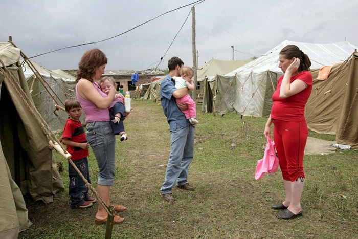 Лагерь беженцев. Фото: Free Zone/flickr.com