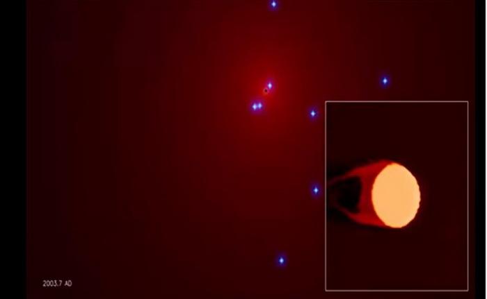 Астрономы смогут увидеть уникальный процесс у сверхмассивной чёрной дыры