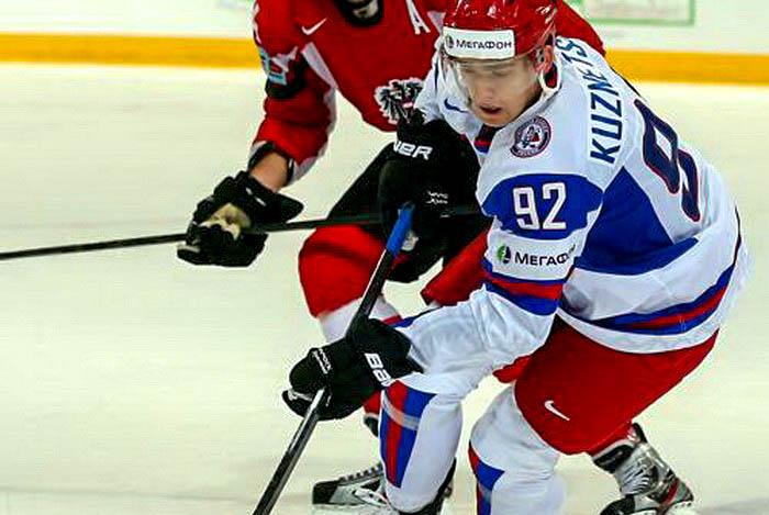 Хоккеист Кузнецов перешёл играть в «Вашингтон»