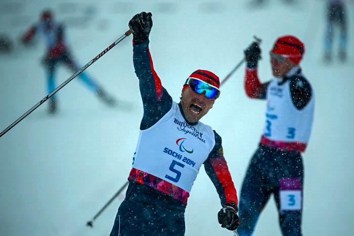 Россияне завоевали все медали Паралимпиады в лыжном спринте «стоя»